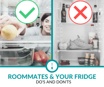 Roommate and your Fridge: Do's and Don'ts