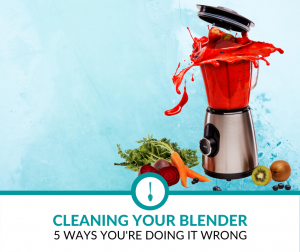 Cleaning your Blender - 5 ways you're doing it wrong