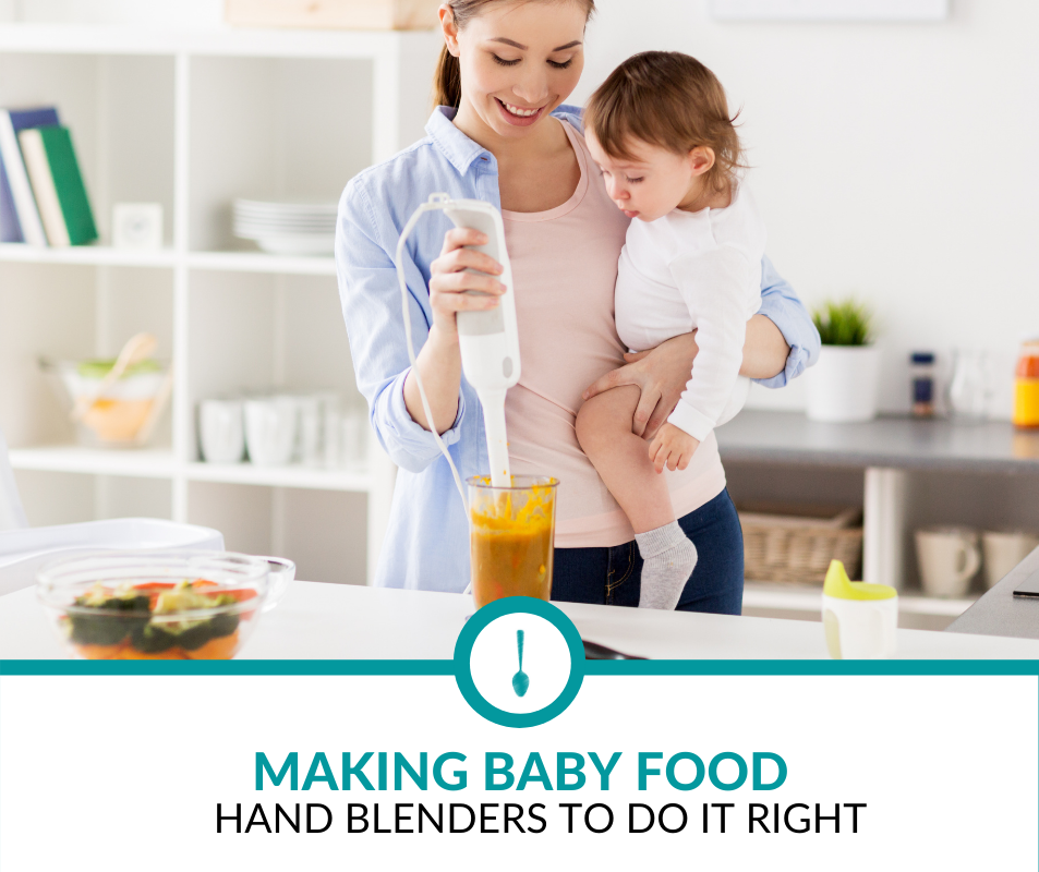 best hand blenders for baby food
