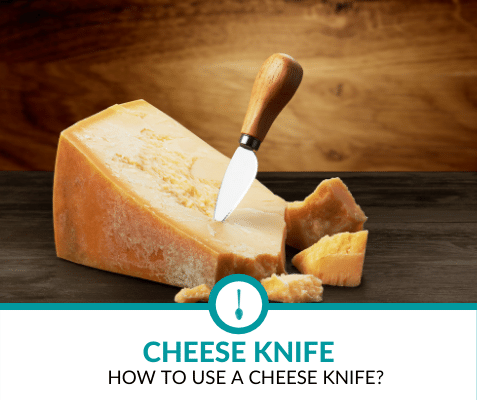 how to use a cheese knife?