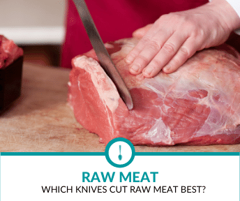 knife for cutting raw meat