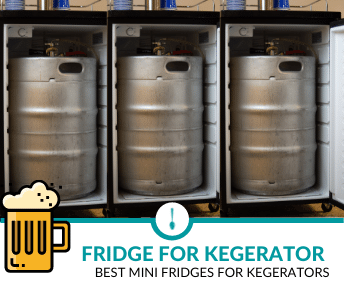 best mini fridges for kegerators