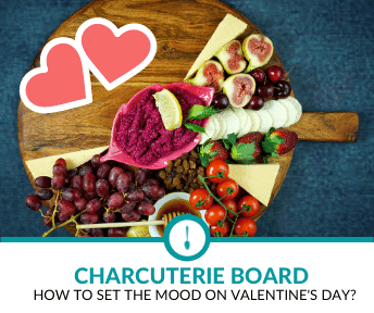 How to Set the Mood with a Valentine's Day Charcuterie Board?